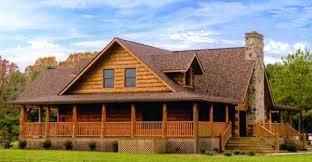 log homes with wrap around porches wrap around porch blue ridge log cabin for 93 539