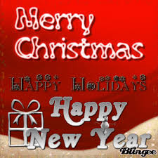 merry happy holidays and happy new year to you picture