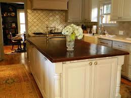 Kitchen Island Wood Countertop Elegant Wooden Countertops