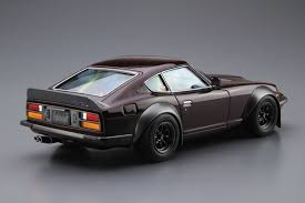 datsun z s30 240z fairlady z aero custom model kit aoshima 1 24