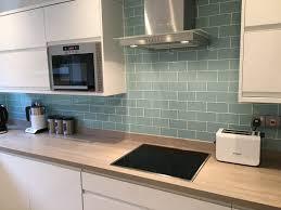 backsplash tile splashback kitchen glass metro tiles premium