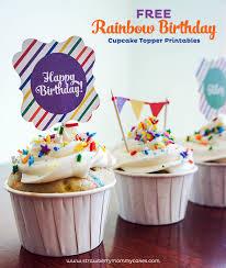 Birthday Cake Toppers 15 Free Birthday Printables I Heart Nap Time