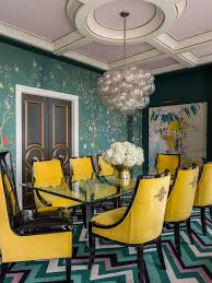 Colorful Dining Chairs by How To Choose A Wall Color Diy