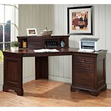 Wooden Corner Desk Top Have Slide Out Drawer For Keyboard by Amazing Home Office Computer Desk With Keyboard Tray Home Office