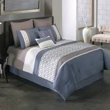 Bed Bath And Beyond Brookfield Buy Covington 8 Piece King Comforter Set In Blue From Bed Bath