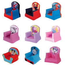 official disney and character childrens cosy chairs inflatable
