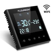 Lcd Wifi Floureon Hy03we4 Smart Wifi Lcd Touch Screen Thermostat Weekly
