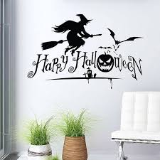 Flying Witch Decoration Flying Witch Halloween Wall Stickers Halloween Wall Stickers Decal