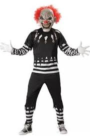 Super Scary Halloween Costumes Boys Evil Clown Costume Boys Costumes Kids Costumes