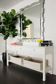 Mirrored Entry Table Photo Page Hgtv