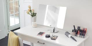 light up makeup table joyous light up mirror with lighted make up vanity table mirror