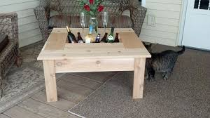 diy outdoor coffee table awesome patio coffee table ideas the home redesign