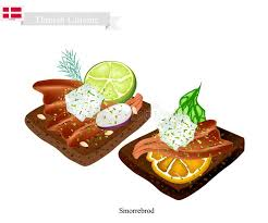cuisine danemark smorrebrod avec l anguille fumée le plat national du danemark