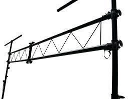 dj lighting truss package dj lighting stands pro audio portable light fixture t bar truss