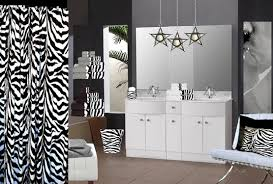 Zebra Print Bathroom Ideas Colors Zebra Print Bathroom Decor And Accessories Home Interiors