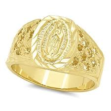size 7 13 2015 new 18k plated classic gold men rings black 22mm 14k gold plated classic catholic