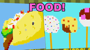 painters minecraft food pixel painters dollastic plays youtube
