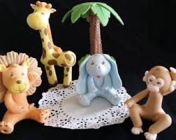 jungle cake toppers jungle baby shower baby shower cake topper