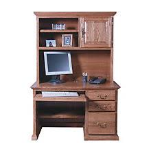 Compact Computer Desk With Hutch Forest Designs Furniture Free Shipping At Officefurniture