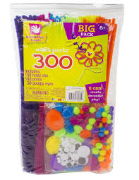 amazon com creative hands assortment pack solid 300 pieces