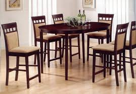High Kitchen Table Sets by Combining Formal Dinners With Tall Kitchen Table Sets