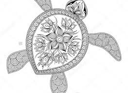 image result coloring pages animals adults turtle