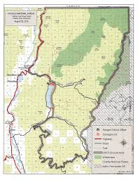 Wildfire Map Fire Activity Causes Colville Forest To Close Huge Areas To Public