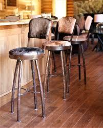 Swivel Bar Stool Rustic Swivel Bar Stools Rustic U0026 Western Bar U0026 Kitchen Furniture