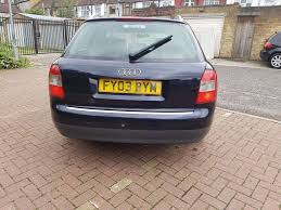 2003 audi a4 avant 1 9 tdi se 5dr manual 07445775115 in