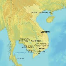 Saigon On World Map by Where Is The Mekong River On A World Map Popular River 2017