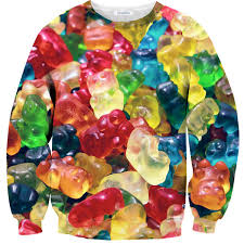gummy clothes gummy sweater clothes sweatshirt and fashion