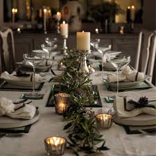 christmas dinner table setting dining table decorations for christmas christmas2018