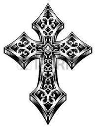 cross tattoos purple pin free designs cross of the