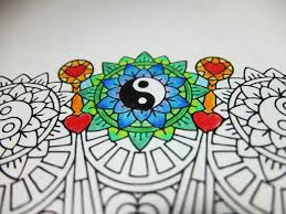 may you be peaceful candyhippie coloring pages