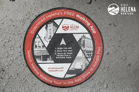 Walking Map App History Comes Alive On The Helena Walking App Helena Mt