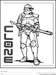 Perfect Design Star Wars Clone Coloring Pages Online 5110 Wars Clone Coloring Pages