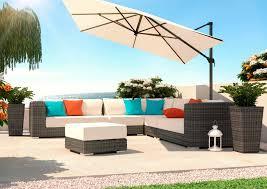 table de jardin haut de gamme artelia fr salon de jardin de luxe en résine tressée haut de