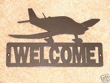 Aviation Home Decor Metal Airplane Decor Ebay