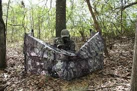 Hunting Ground Blinds On Sale Amazon Com Primos Up N Down Stakeout Adjustable Ground Blind