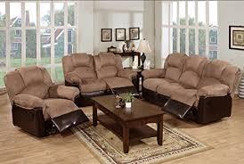 living room sets 3 pc modern saddle plush microfiber living room sets