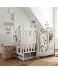 spectacular deal on levtex baby kenya 5 piece crib bedding set in grey