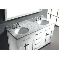 Home Depot White Bathroom Vanity by Vanities Home Decorators Collection Sonoma 60 In Double Vanity
