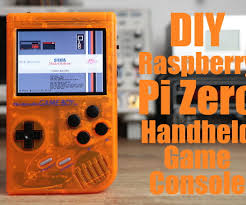diy raspberry pi zero handheld game console 6 steps with pictures