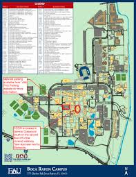 Map Jupiter Florida by Fau Boca Campus Map Florida Atlantic University
