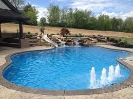 Swimming Pools Designs gunite pool design ideas home design
