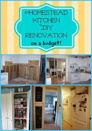 my homestead kitchen diy story