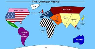 america in world map the american world map lingua franca