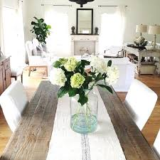dining room table runner ideas lovely table arrangement dining accessories dining table cloth