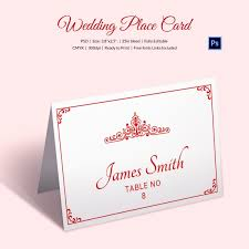 printable name place cards wedding place card template 20 free printable word pdf psd