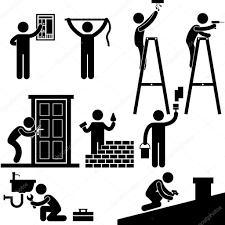 handyman electrician locksmith contractor working fixing repair